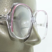 Reading Glasses Orchid Pink Line Accent Big Statement Women's Frame +3.00 - $21.50
