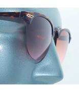 1950's Retro Vintage Style Sunglasses Top Tortoise Frame  Brown Pink Lens - $16.95