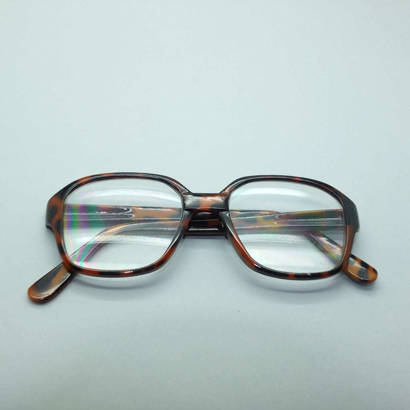 chunky bold frame reading glasses 2 50 lens strength rich