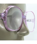 Reading Glasses Violet Large Oversize Grand Frame Acrylic Classic +3.00 Strength - $20.50