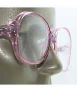 Reading Glasses Pink Large Oversize Grand Frame Acrylic Classic +1.00 Strength - $20.50