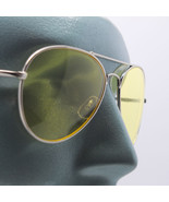 Uber Rock Cool Colored Yellow Lens Aviator Sunglasses Tint Shades - $24.00