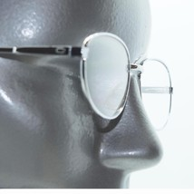 Reading Glasses Sleek Chic Mid-Size Oval Silver Wire Frame +1.25 Lens Strength - $17.00