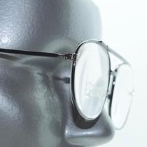 Aviator Classic Gunmetal Gray Polished Mid Size Frame Reading Glasses +1.25 - $21.00
