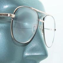 Reading Glasses Large Man Modern Aviator Straight Bifocal 2-tone Frame +... - $24.00