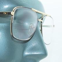 Reading Glasses True Straight Half Bifocal Lens Classic Metal Black Fram... - $24.00
