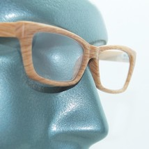 Eco Reading Glasses Pine Wood Effect Contemporary Low Rise Profile +2.00 Lens - $22.00