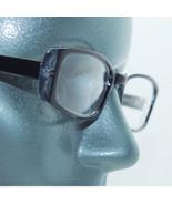 Narrow Midnight Blue Frame Tres Chic Clear Lens Runway Fashion Eyewear G... - $34.00