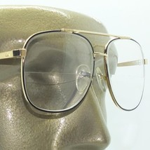 True Half Bifocal Aviator Large Lens Classic Reading Glasses +2.25 Black Frame - $24.00
