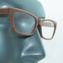 Eco Reading Glasses Wood Grain Effect Contemporary Low Rise Profile +2.5... - $22.00