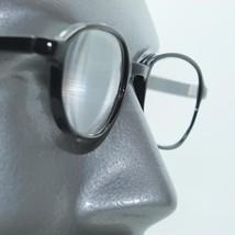 Classic 50's Black Polished Acrylic Frame Reading Glasses +3.75 Strength... - $17.50