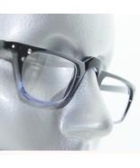 Purple Black Ombre Half Eye Reading Glasses Rhinestone Accent Sophisticate +1.00 - $26.00