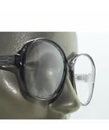Mega Huge Oversize Statement Bold Polished Dark Gray Frame Reading Glass... - $23.00
