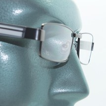 Reading Glasses Super Hi Tech Metro Metal Frame Jazz Shiny Gray Detail +4.00 - $23.00