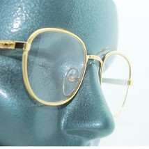 Classic Metal Rounded Frame Reading Glasses Gold Wire +2.50 Lens Strength - $18.00