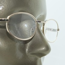 Reading Glasses Oval Gold Metal Wire Frame Strong +4.00 Strength - $18.00