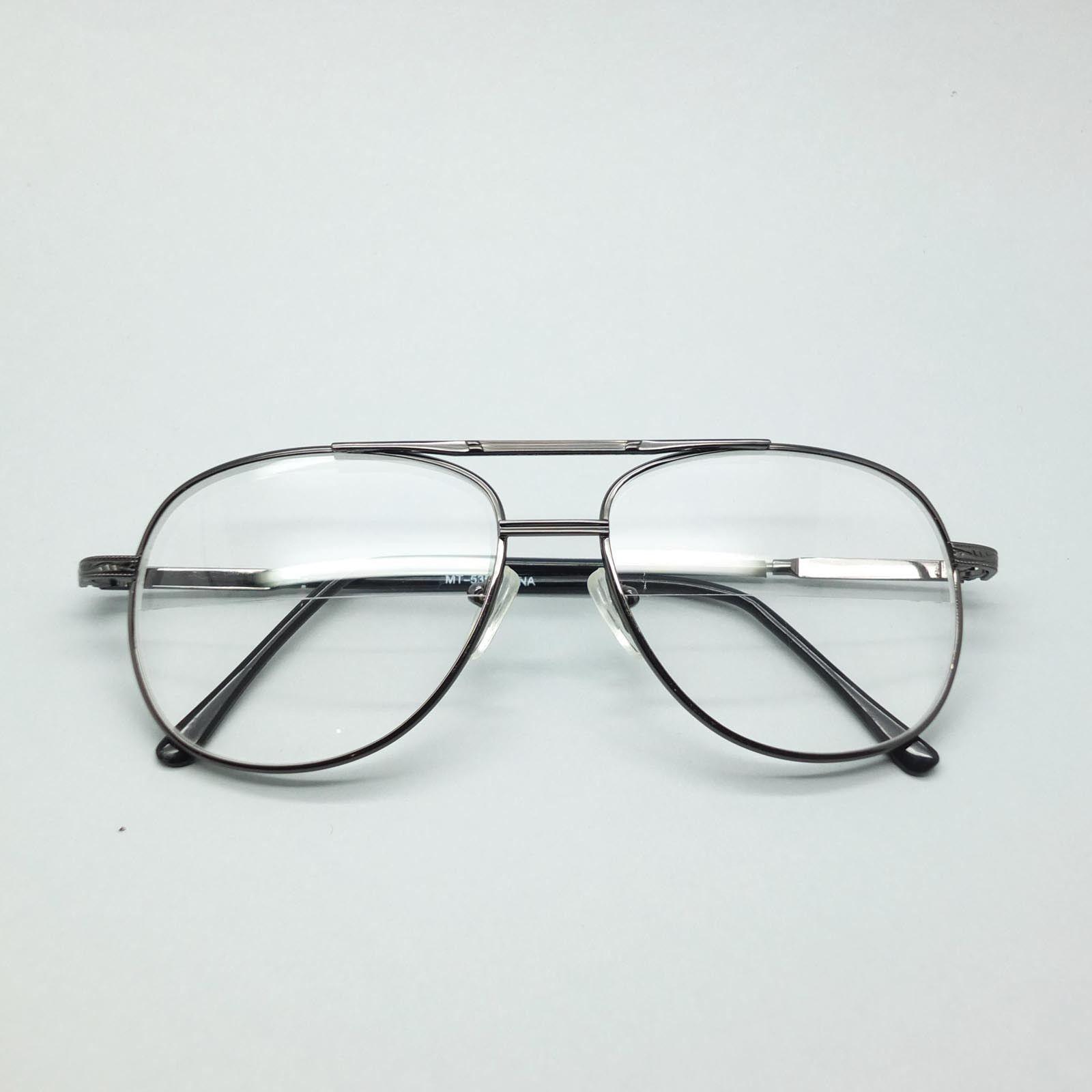 Reading Glasses Large Man Modern Aviator Straight Bifocal ...