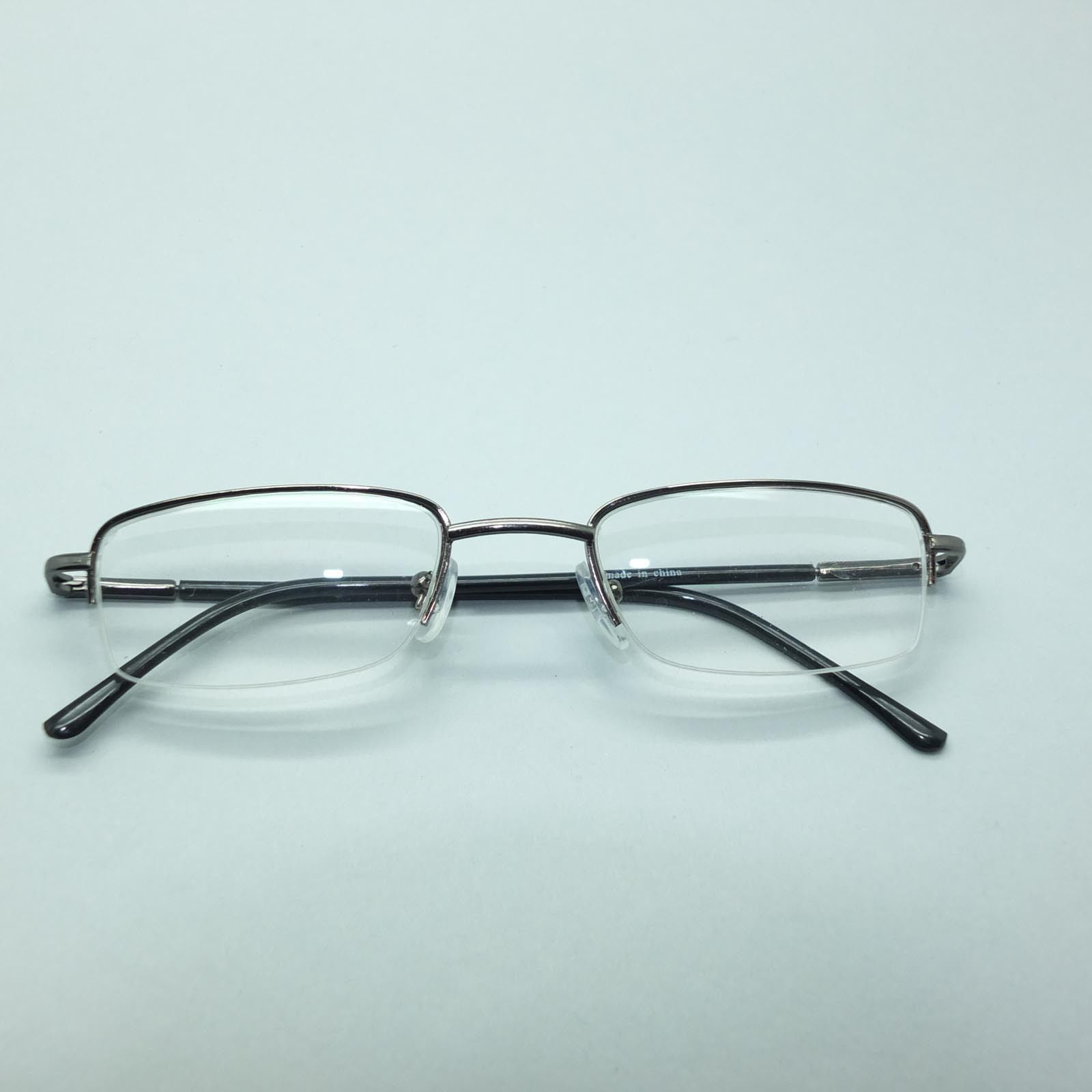 Gunmetal Gray Reading Glasses Narrow Lens Tek Style Lo Pro ...