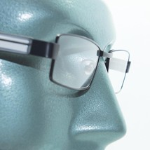 Reading Glasses Super Hi Tech Metro Metal Frame Jazz Black White Detail +4.00 - $23.00
