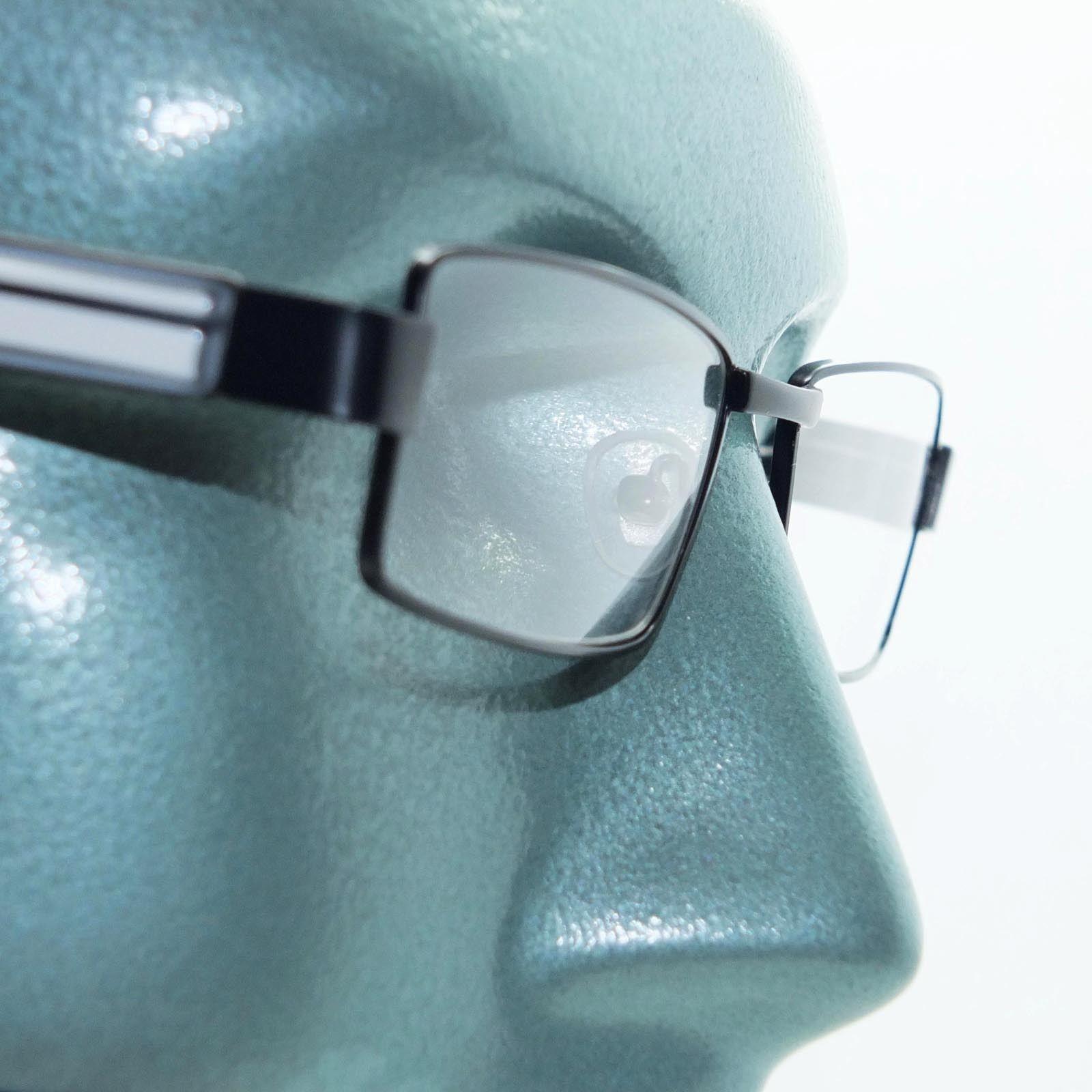 Reading Glasses Super Hi Tech Metro Metal Frame Jazz Black White Detail +1.50 - $23.00