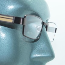Reading Glasses Super Hi Tech Metro Metal Frame Jazz Bronze Detail +2.50 - $23.00