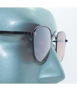 Petite Size Metal Black Frame Driving Glasses Round Orange Lens - $19.00