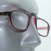 Half Eye Reading Glasses Pink Red Frame Bright Color Fun +2.00 Lens Strength - $18.00