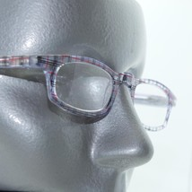 Sweet Red Black Preppy Style Plaid Low Frame Reading Glasses +2.50 Lens - $17.00