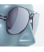 Aviator Metal Black Frame Sunglasses Sun Shades Pilot Captain - $22.00