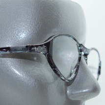 Reading Glasses +1.25 Triangle Wide Frame Super Mod Grays - $14.97