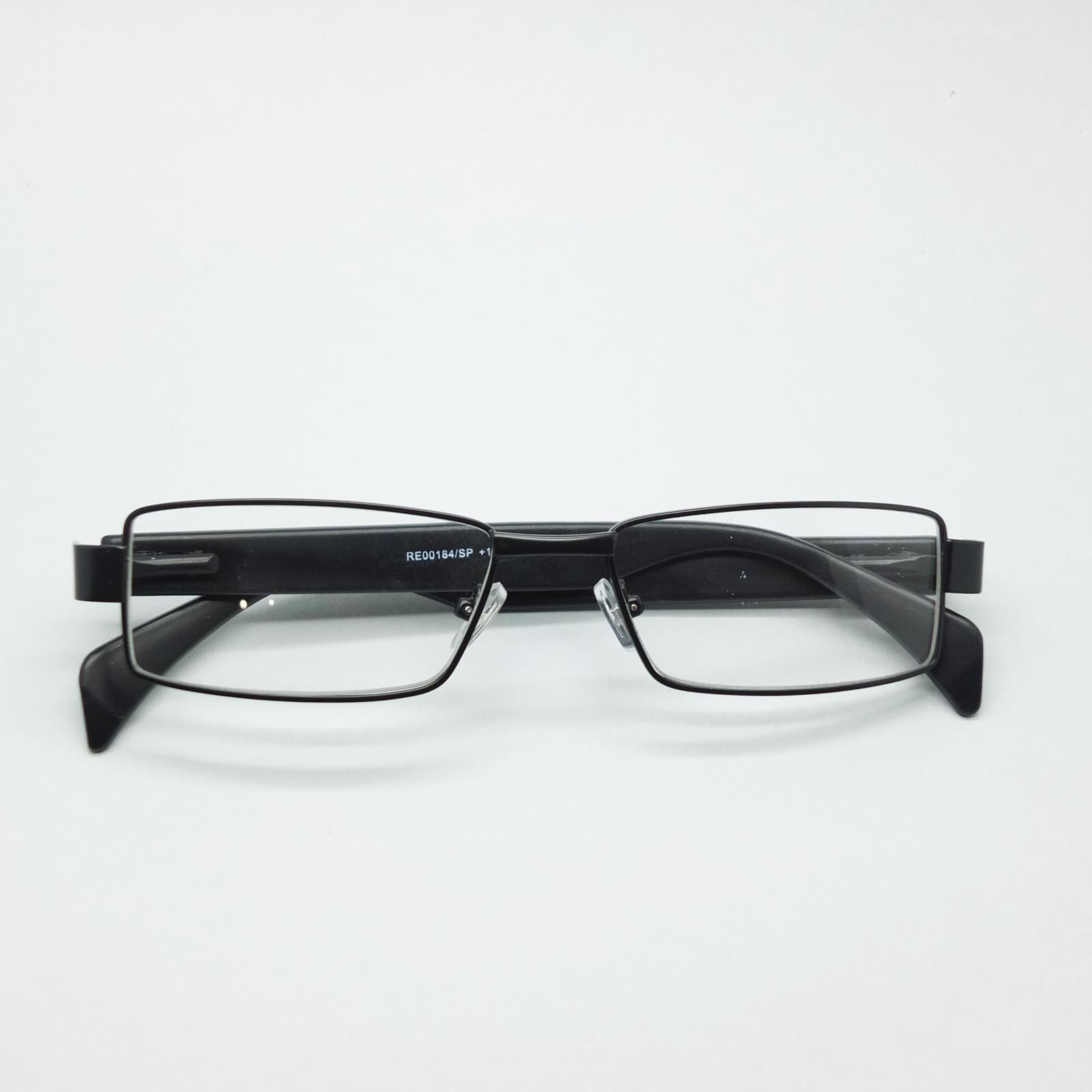 Reading Glasses Super Hi Tech Metro Metal Frame Jazz Black White Detail +4.00 image 4