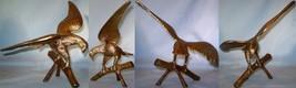 Brass Eagle on Tree Limbs - $20.00