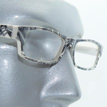 Reading Glasses Sharp Ink Style Tattoo Graffiti Frame +1.75 White Black - $22.00