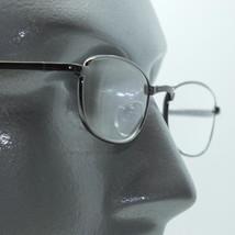 No Fuss Simple Shiny Gray Metal Frame Reading Glasses +2.00 Lens Strength - $17.00