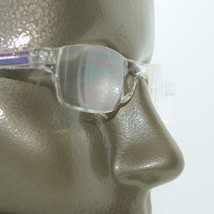 Frameless Purple Clear Trim Invisible Lens Reading Glasses +3.75 Strength - $18.00