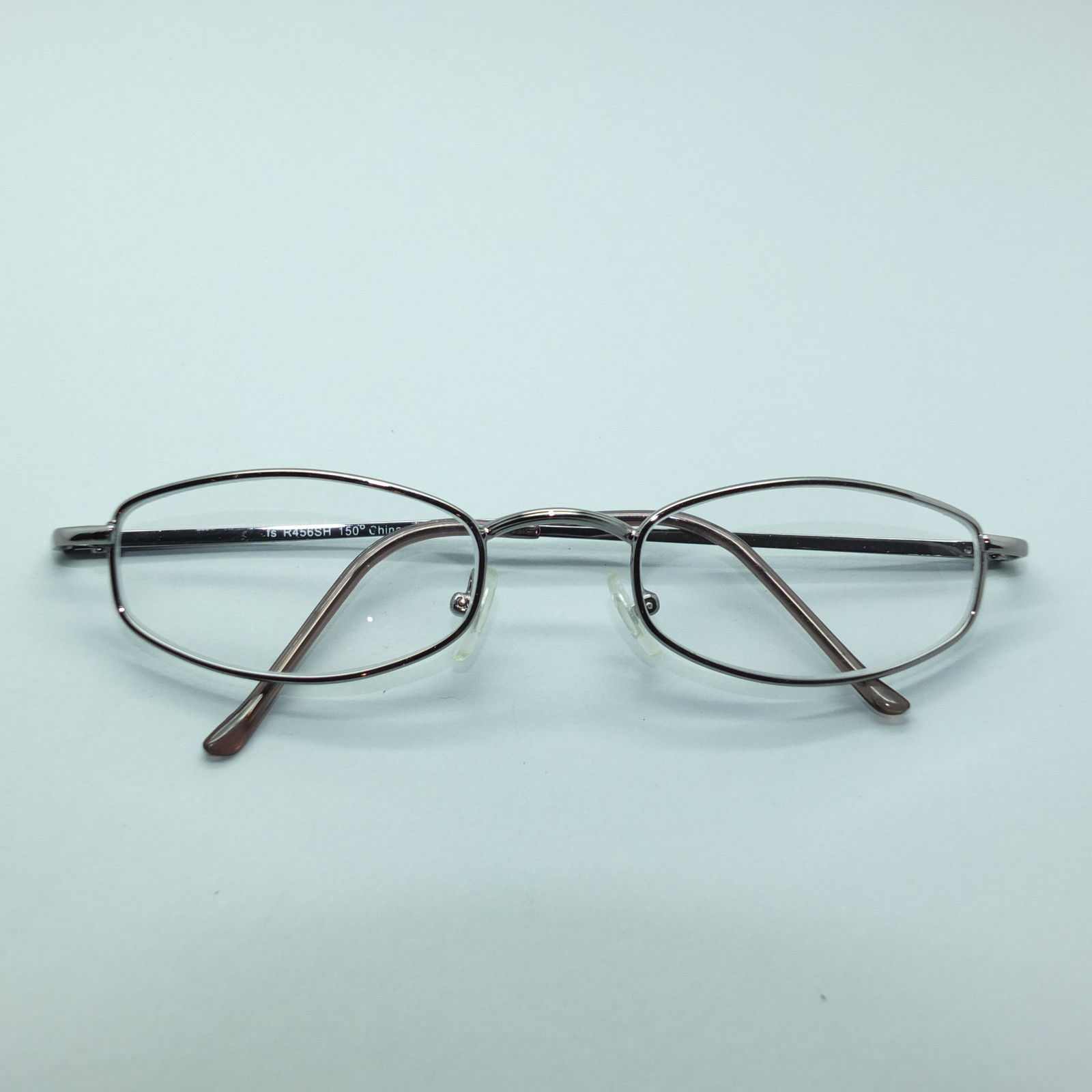 Reading Glasses No Frame : Reading Glasses +1.50 Simple No-Fuss Silver Metal Frame ...