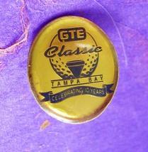 GTE Classic Tie Tack Vintage 10 Year Celebration Golf Tournament Scholar... - $50.00