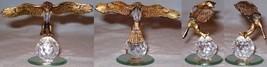 Brass & Glass Eagle - $5.00