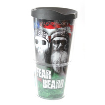 NEW Tervis 24 Oz. Tumbler FEAR THE BEARD Duck Dynasty Commander Phil Wil... - $29.99