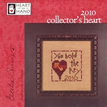 Collectors Heart 2010 Kit cross stitch Heart In Hand - $16.20