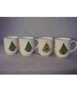 Mt. Clemens Pottery Christmas Tree Mugs  Mixed ... - $41.00