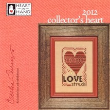 Collectors Heart 2012 Kit cross stitch Heart In Hand - $16.20