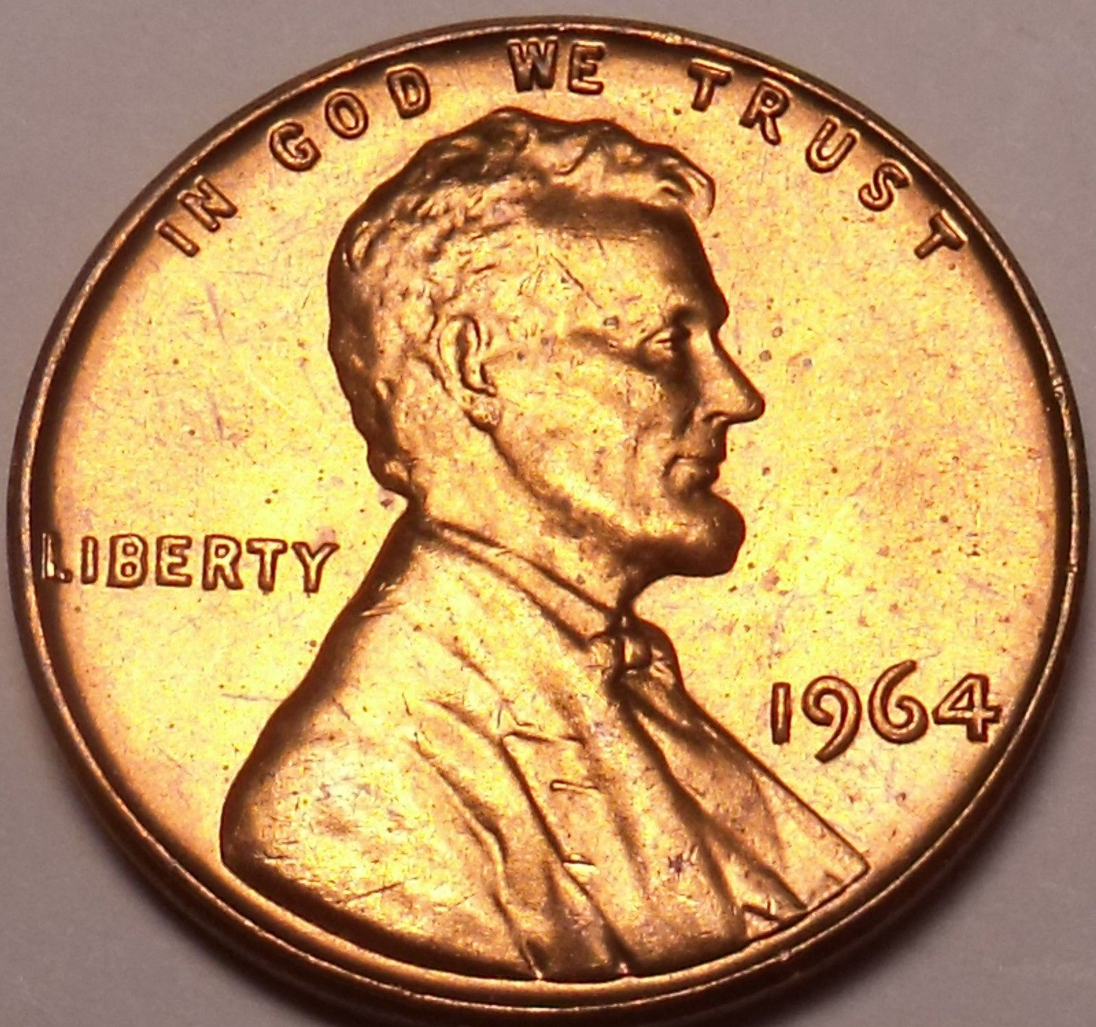 Primary image for United States Unc 1964-P Lincoln Memorial Cent~Free Shipping