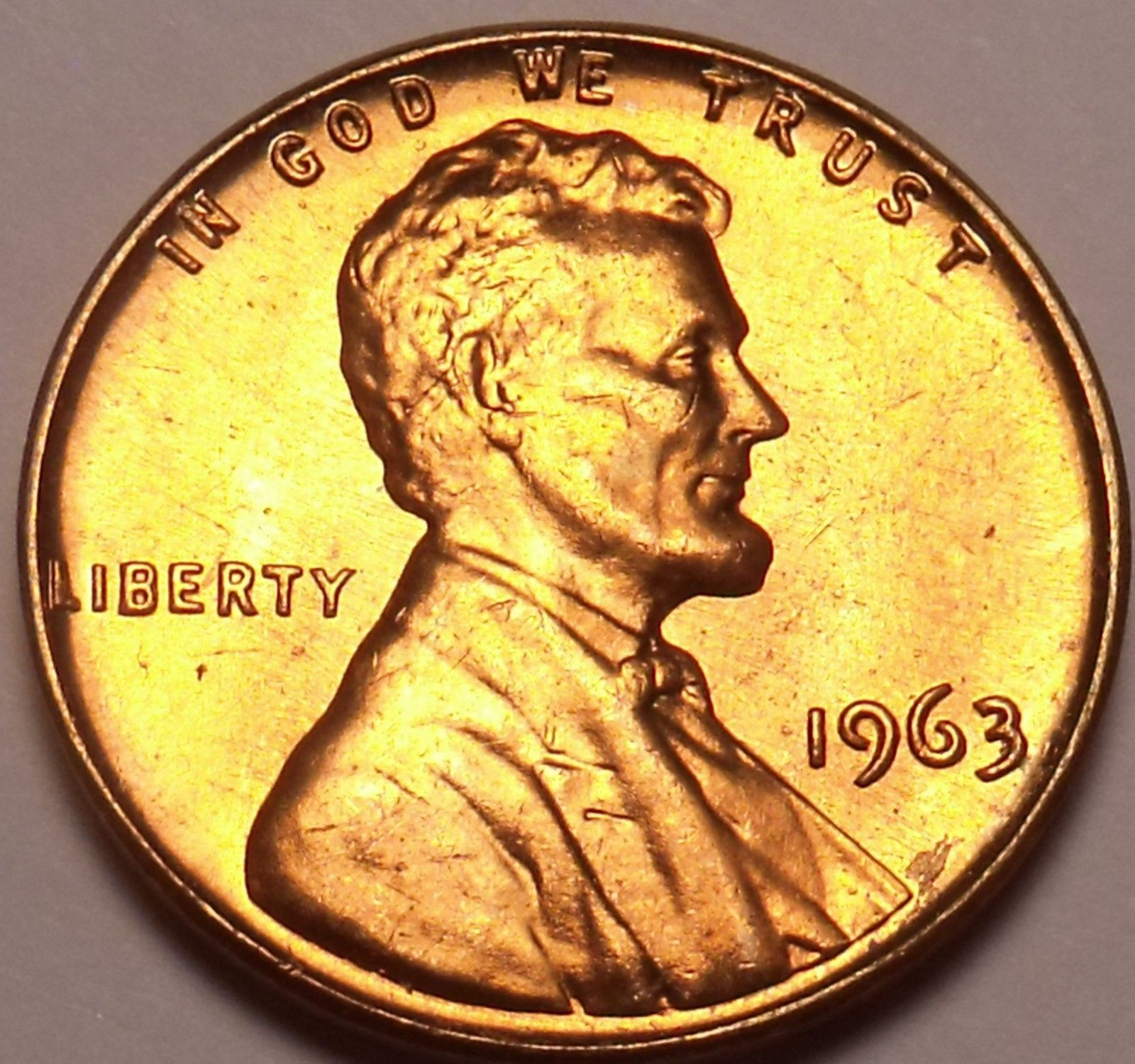 Primary image for United States Unc 1963-P Lincoln Memorial Cent~Free Shipping