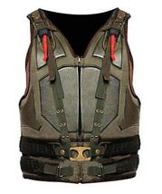 Mens Bane Vest Dark Knight Rises Tom Hardy Leather Costume image 1