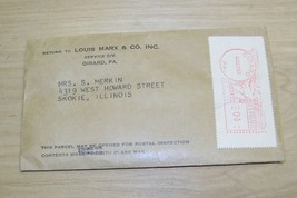 Louis Marx service parts envelope 1965 Girard Pa - $17.95