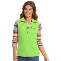 CHAPS Sleeveless Fluorescent Green Women's Vest Size M NWT - $14.95