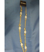 Pier 1 Imports New Beaded Charm White Necklace - $12.95