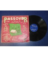 TIKVA RECORDS PASSOVER LP HEBREW JEWISH ABRAHAM... - $49.01