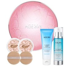 AGE20s Essence Pink Latte Cover Pact Case + Refill 12.5gx 2p + Cell Boun... - $40.55+